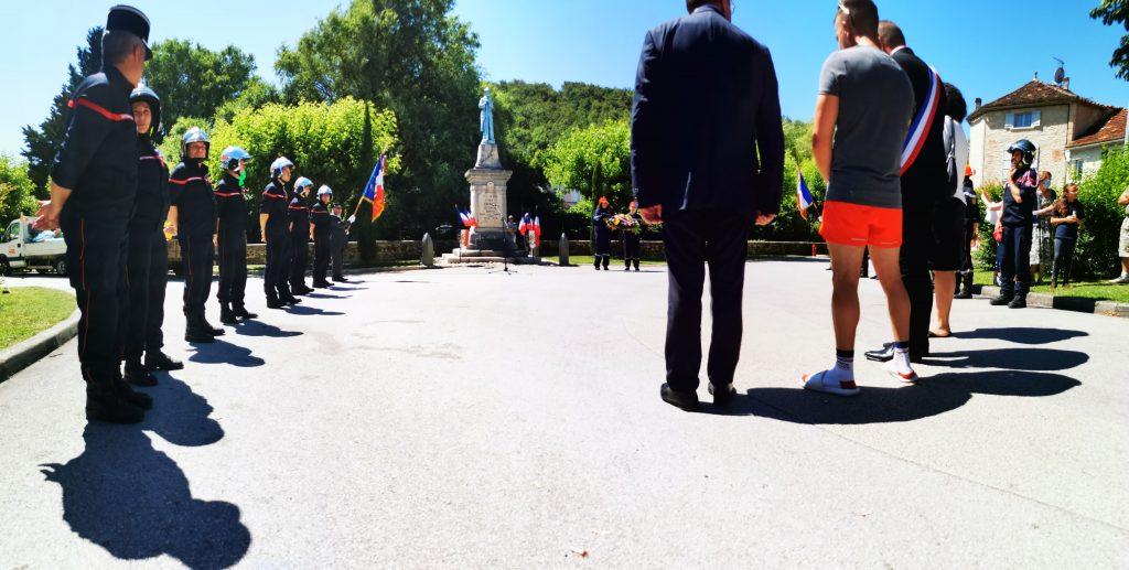 Cérémonie Monument aux morts 11072021