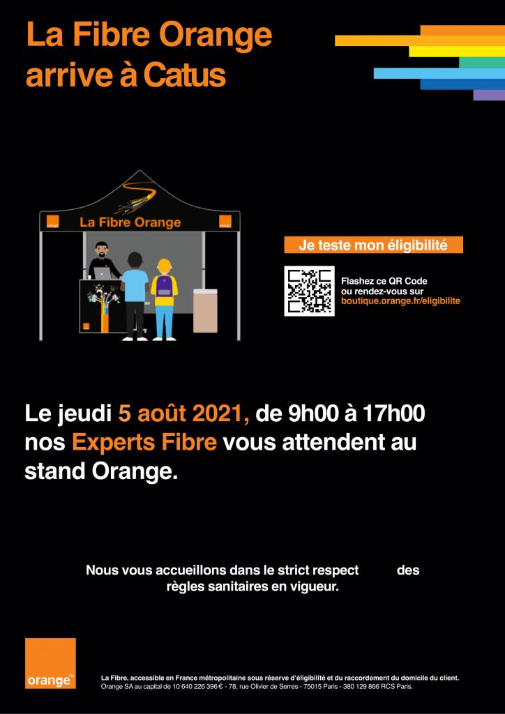 Stand fibre Orange
