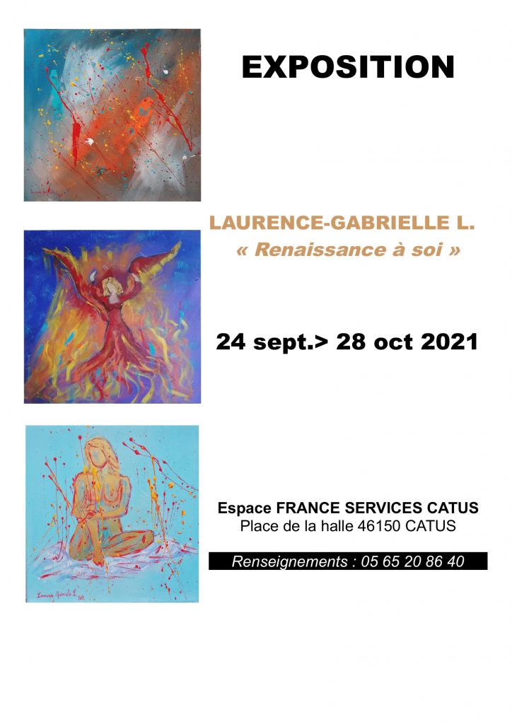 Exposition de Laurence Gabrielle Larroque